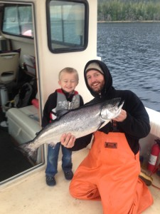 Capt. Jim with November 18th winter King!